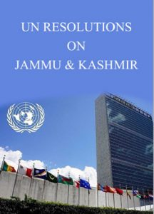 UN Resolution on Kashmir